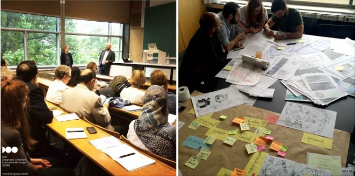 "Working Groups at the Expert and Researchers' Workshop ""Scenarios for Post-War Reconstruction in Aleppo "" in Stuttgart University (c) Franziska Laue"