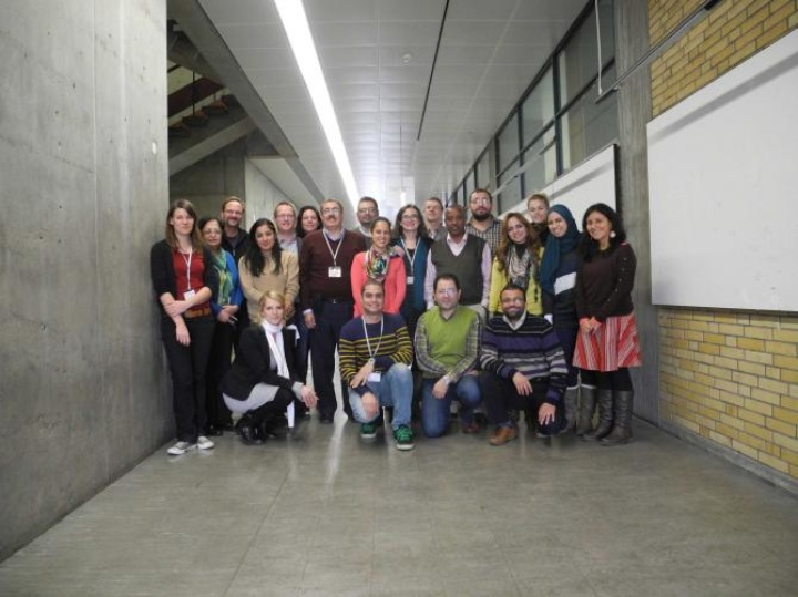 Group photo of the impulse workshop on the topic of Green Infrastructure considering Integrated Urban Water Management in Stuttgart (c)
