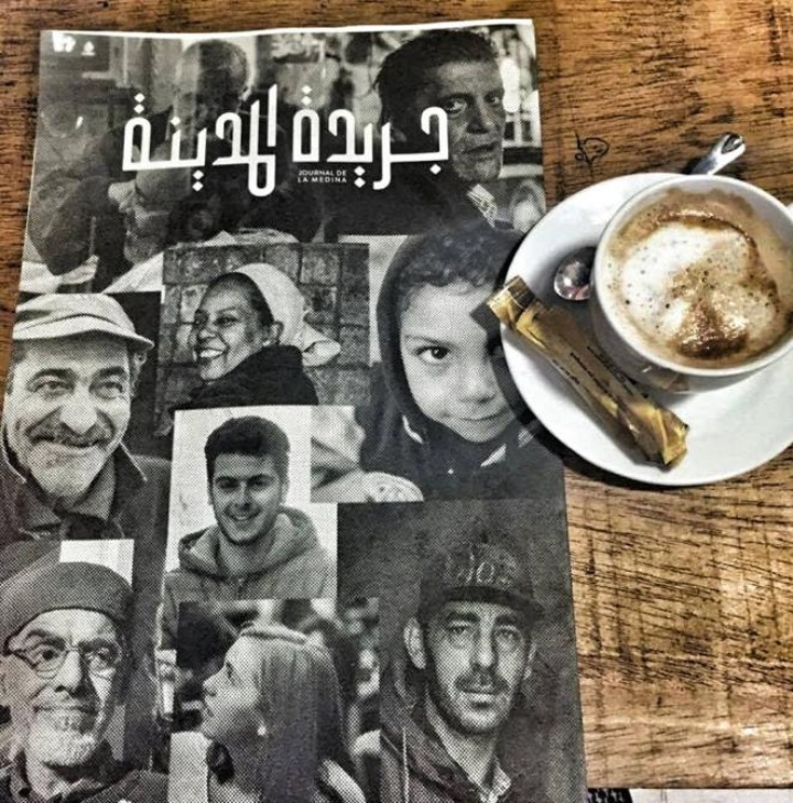 Cover of an arabic magazine (c) Asma Laabidi